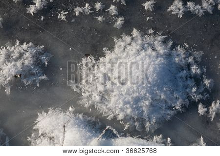 Iced Water Surface