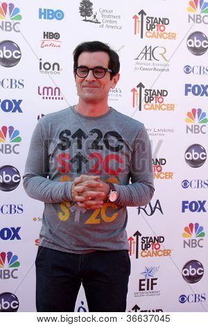 LOS ANGELES - SEP 7:  Ty Burrell arrives at the 2012 Stand Up To Cancer Benefit at Shrine on September 7, 2012 in Los Angeles, CA