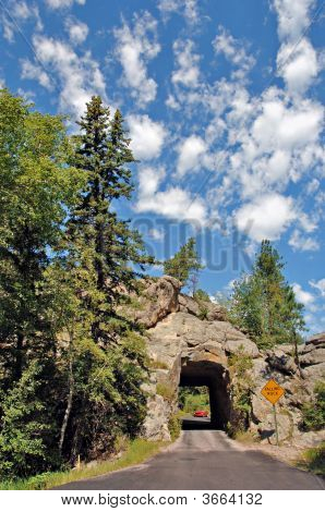 Tunnel In The Black Hills