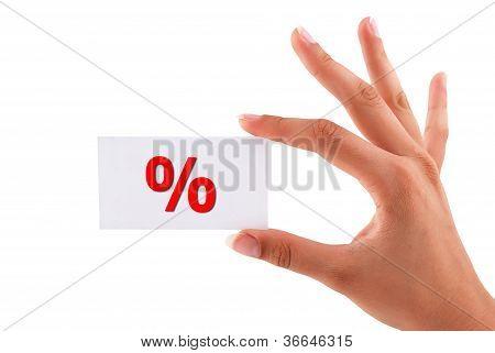 Percent Card