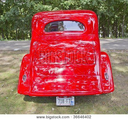 1935 Chevy Std Rear View
