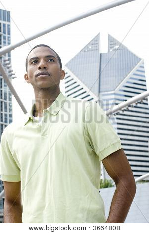 Confident Black Male