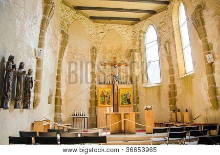 Spis Castle (Spissky hrad) - Slovakia - chapel