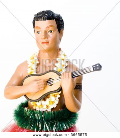 Hawaiian Hula And Perfomer