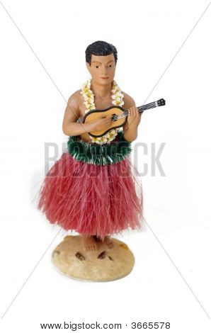 Hula Dancer And Perfomer