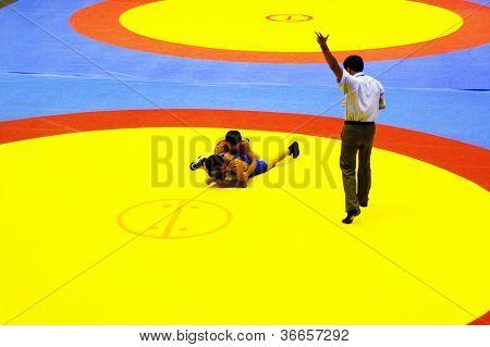 Asian cadet  wrestling championship 2011, 4-7 August 2011