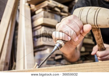 gouge wood chisel