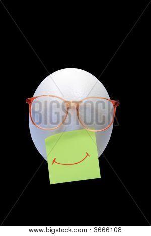 Smiling Egg-Head