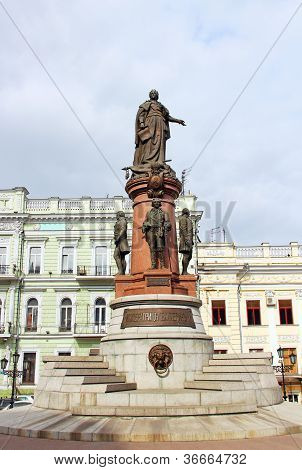 Catherine The Great Monument, Odessa, Ukraine