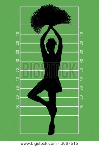 Football Cheerleader 3