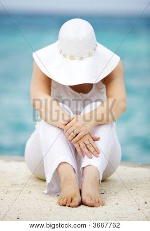 Beach Girl Portrait