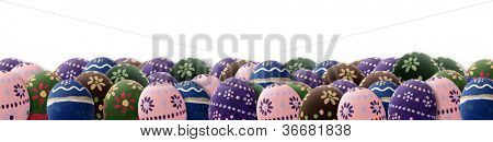 A great Easter Eggs banner for Easter theme