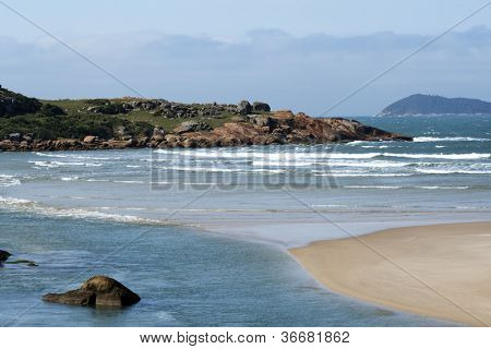 Florianopolis - SC - Brasil - Guarda do Embau - Beach scene