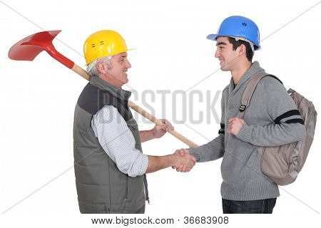 Foreman and apprentice