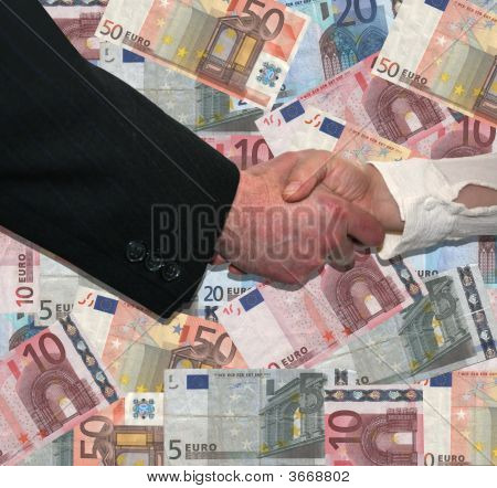Handshake Over Euros