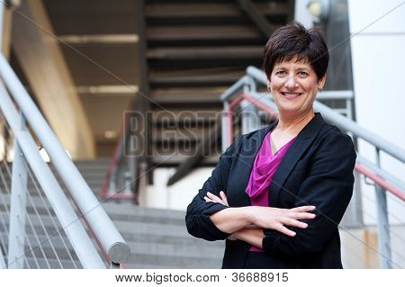 Portrait Of A Mature Businesswoman