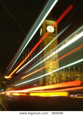 Big Ben Bus Trails