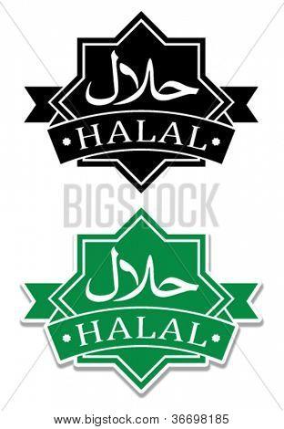 Halal Seal / Icon