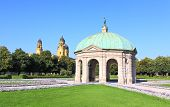 stock photo of munich residence  - The scenery at the Residenz and Odeonsplatz in Munich - JPG