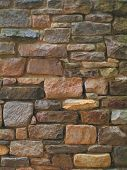 pic of fieldstone-wall  - stone wall - JPG