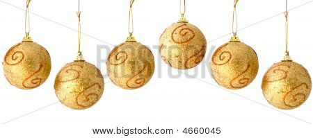 Christmas Balls Repeatable Border