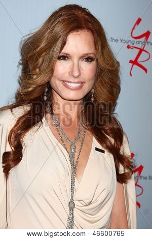 LOS ANGELES - JUN 4:  Tracey E. Bregman arrives at SAG-AFTRA Panel Discussion With The Cast Of