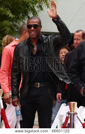 LOS ANGELES - JUN 6:  Chris Tucker at the Hand & Footprint ceremony for Jackie Chan at the TCL Chinese Theater on June 6, 2013 in Los Angeles, CA