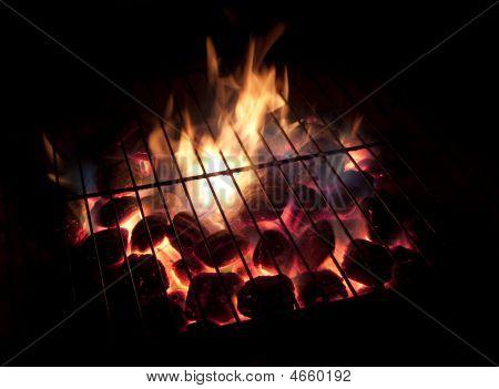 Hot Coals, Long Exposure