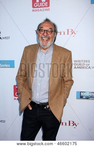 LOS ANGELES - JUN 2:  James L. Brooks arrives at the WGA's 101 Best Written Series Announcement at the Writers Guild of America Theater on June 2, 2013 in Beverly Hills, CA