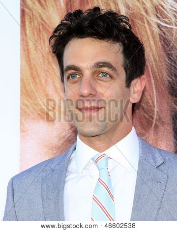 LOS ANGELES - MAY 29:  B. J. Novak arrives at the