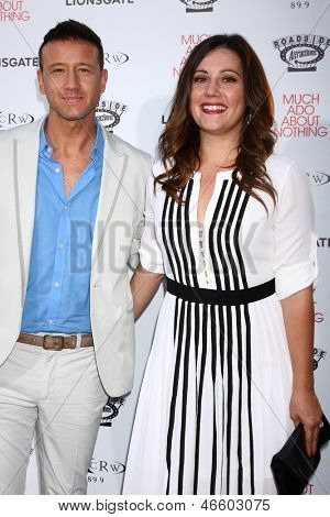 LOS ANGELES - JUN 5:  Joshua Zar, Emma Bates arrives at the