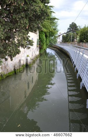 Aquileia and Natissa river, Italy