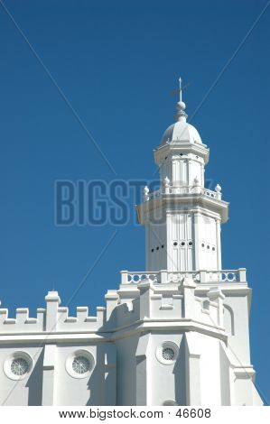 Steeple Of St. George Temple
