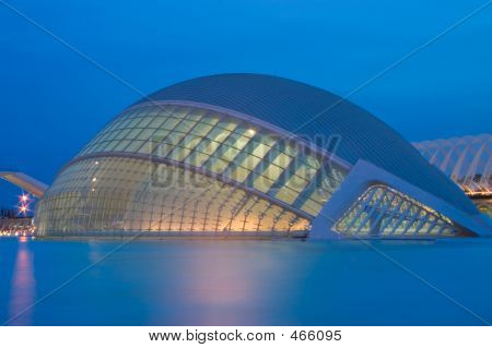 City Of The Arts And Sciences (hemisferic)