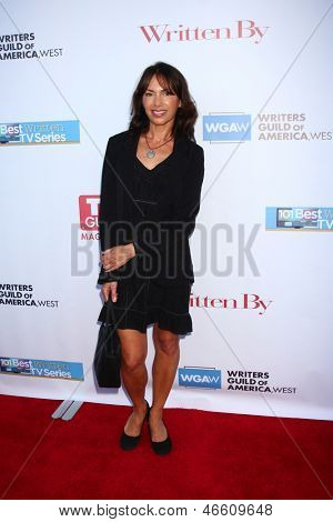 LOS ANGELES - JUN 2:  Susanna Hoffs arrives at the WGA's 101 Best Written Series Announcement at the Writers Guild of America Theater on June 2, 2013 in Beverly Hills, CA