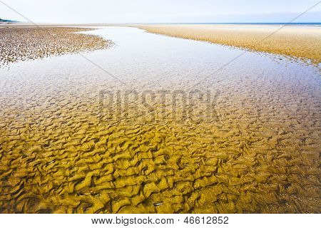 La Manche Coastline In Normandy