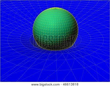 Einstein's Wire Net General Theory Of Relativity Structure Vector