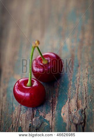Cerejas frescas