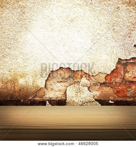 Damaged Wall Texture background