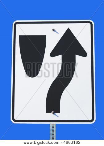 Median Sign