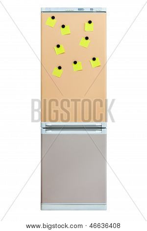 Note On Refrigerator Door