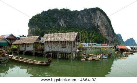 Floating Village Houses