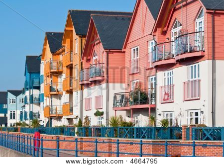 Colourful Waterfront Homes