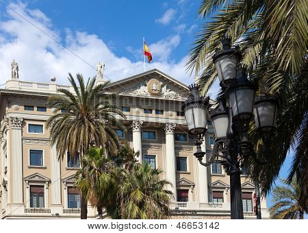 Spain. Barcelona. Military Government Building..