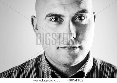 Male High Key Portrait