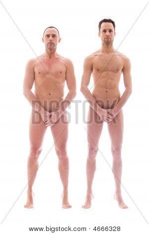 2 Men Standing