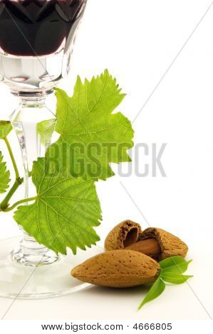 Wine With Almond