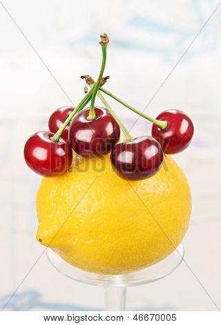 Lemon And Cherry.