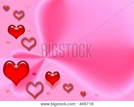 Celebratory Pink Card .love
