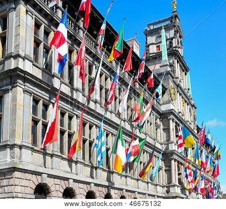 Cityhall from Antwerp